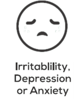 Irritability, Depression or Anxiety